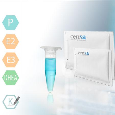 Speicheltest Zu Den Hormonen Progesteron + DHEA+ Estradiol (E2) + Estriol (E3)